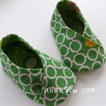 Michi Kimono-Style Baby Booties PDF Pattern (#40)