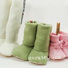 Sasha 3-Style Baby Boots PDF Pattern (#110)