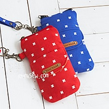 Suzy Smartphone and Card Pouch PDF Pattern (#1150)