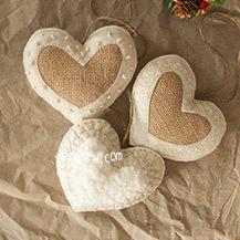 2 Style Heart Ornaments PDF Pattern (#2383)