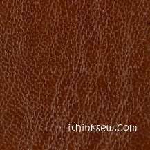 #10 Smooth Thin Faux Leather