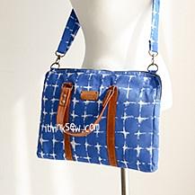 Larissa Thin Laptop Bag PDF Pattern (#2534)