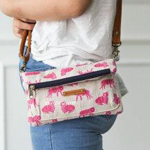 Lucindia Foldover Wallet Bag PDF Pattern (#2622)