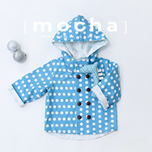 (1Y-5Y) Double Button Hood Jacket  PDF Pattern (#2767)
