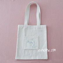 FREE - Darcie Eco Bag PDF Pattern (#3015)