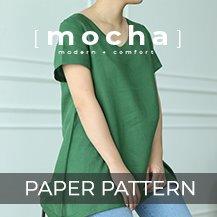 MOCHA 2 Styles Muriel Tunic and Dress Paper Pattern (#3101
