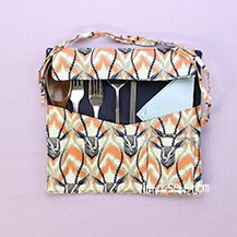Free Gilbert Utensil Case PDF Pattern (#3121) & Video tutorial - FREE