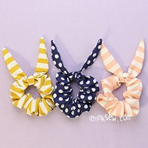 Free Valencia Scrunchie PDF Pattern (#3128) & Video tutorial - FREE