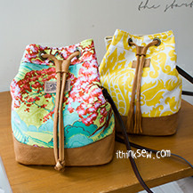 Natalie Bucket Bag PDF Pattern (#817)