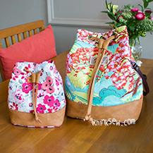 Natalie Bucket Bag & Pouch Combo (#821)