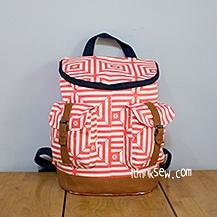 Donna Backpack PDF Pattern (#865)