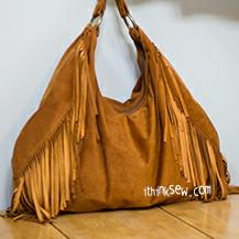 Karen Fringe Hobo Bag PDF Pattern (#902)