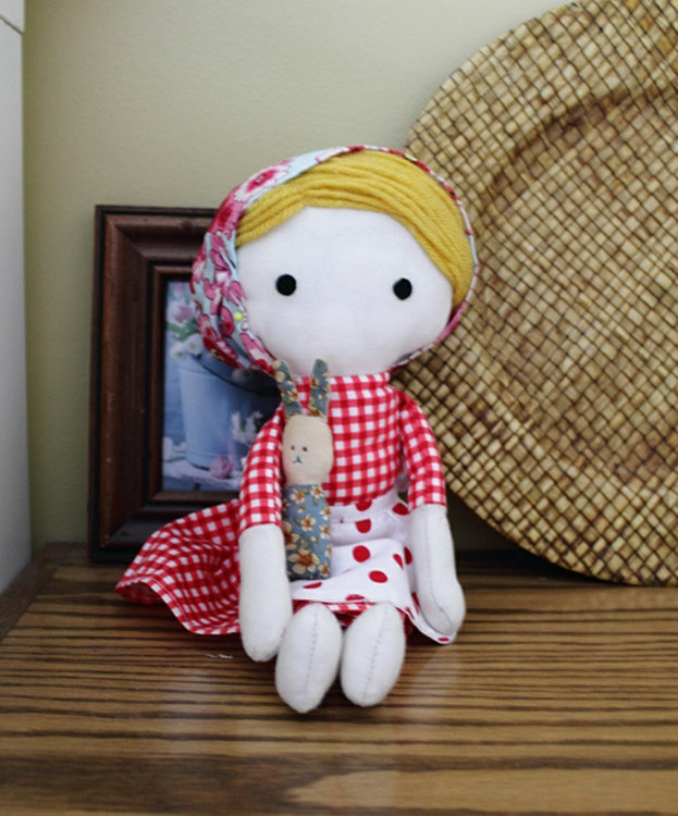 Picture of Emily Doll PDF Pattern