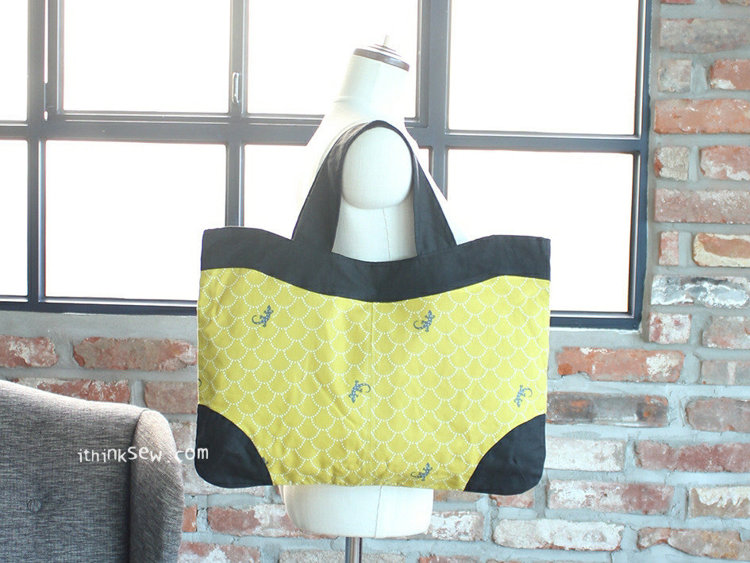 Picture of Rayne Bag PDF Pattern