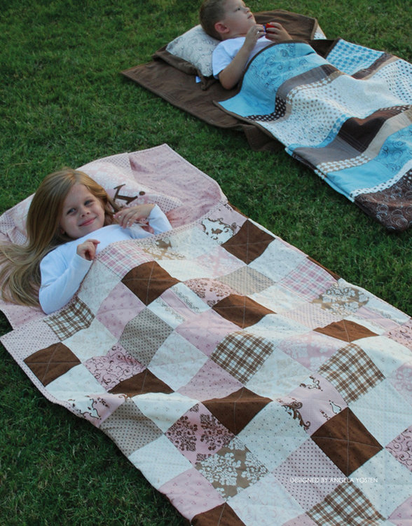 Picture of Quilted Nap Sack PDF Pattern