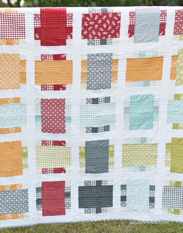 Picture of Around the Block Quilt PDF Pattern