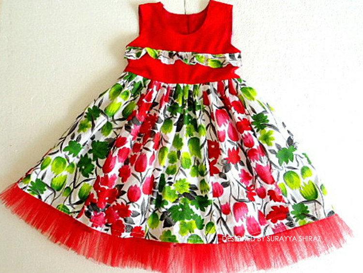 Picture of Ashley Paneled Dress PDF Pattern