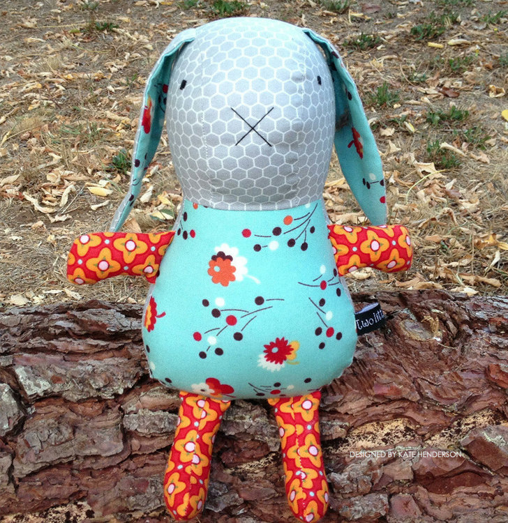 Picture of Beatice Bunny PDF Pattern
