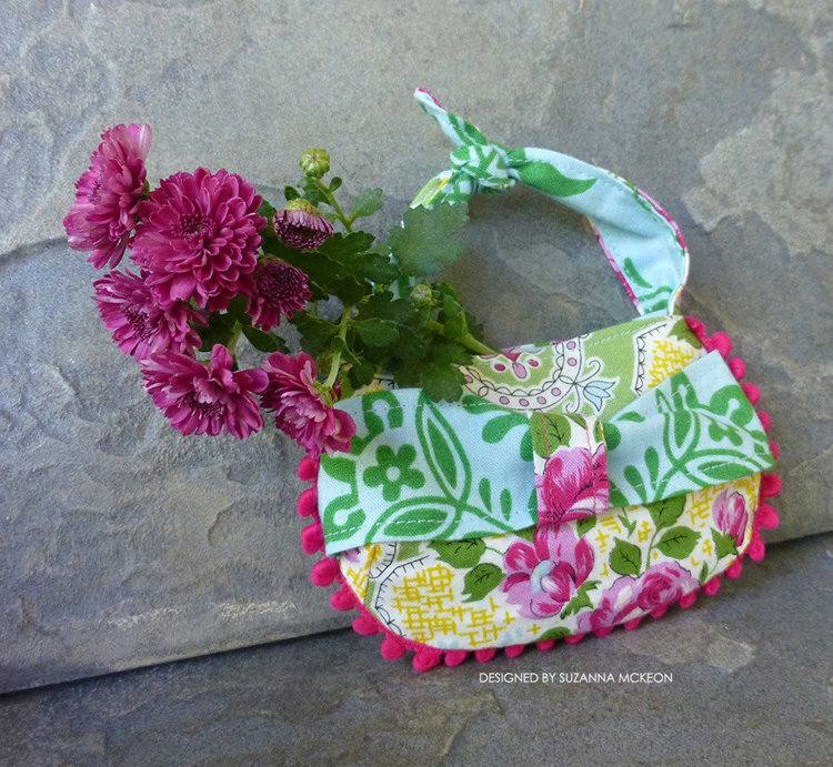 Picture of Tea Party Doll Purse PDF Pattern
