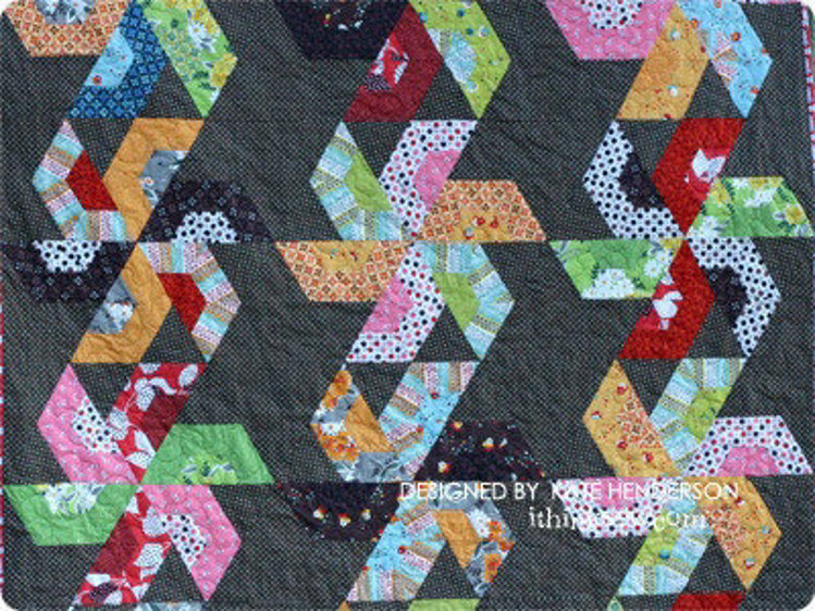 Picture of Sails on the Harbour Quilt PDF Pattern