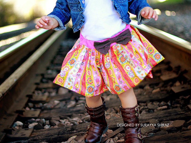 Picture of Alicia Bubble Skirt PDF Pattern