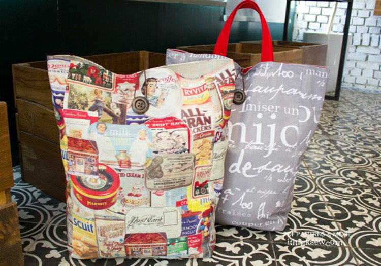 Picture of FREE - Kailey Foldable Bag PDF Pattern