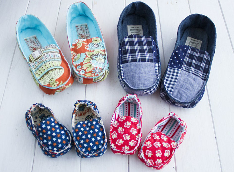 Picture of Kathy Family Moccasins Set PDF Pattern 20% Off!