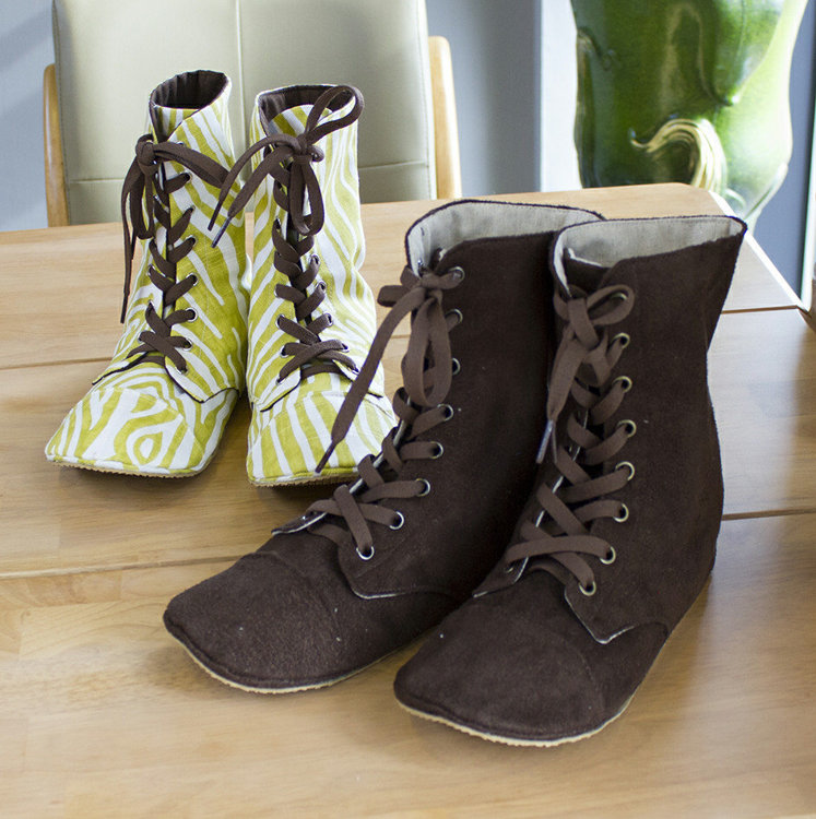 Picture of Adler Women's Combat Boots PDF Pattern