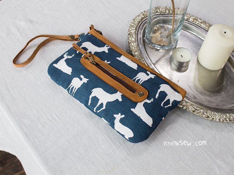 Picture of Alanna Zipper Pouch PDF Pattern