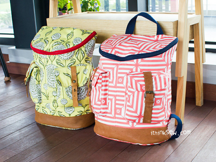 Picture of Donna Backpack PDF Pattern