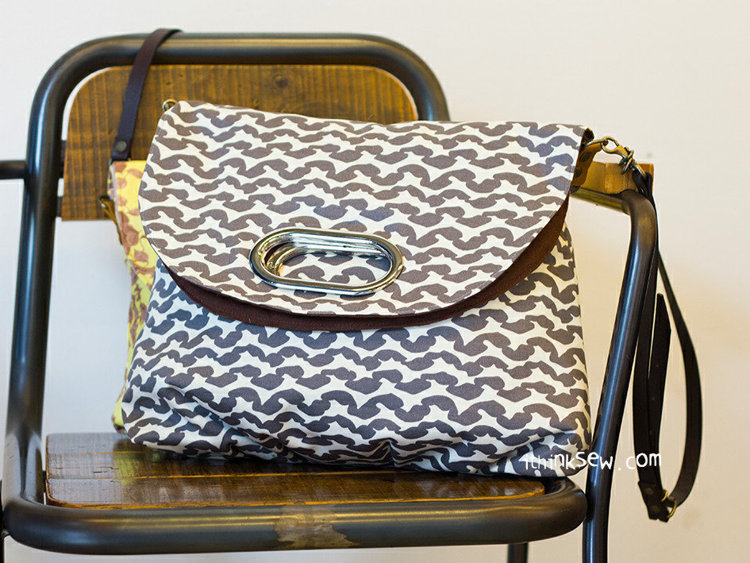 Picture of Heather Fold Over Bag PDF Pattern