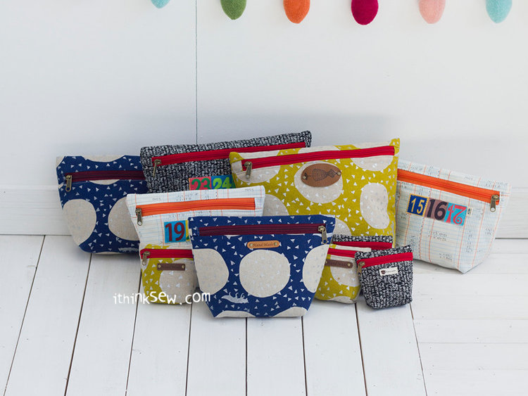 Picture of Nicole Pouch PDF Pattern