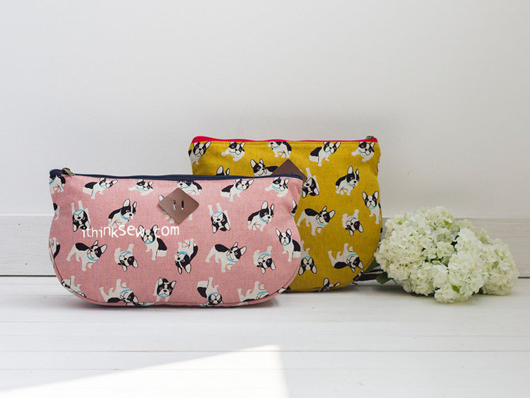 Picture of Lindsay Zipper Pouch PDF Pattern