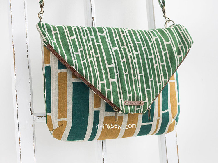Picture of Annabella Fold over Bag PDF Pattern (2 Size)