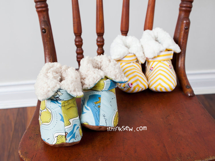 Picture of Vina Baby Boots PDF Pattern