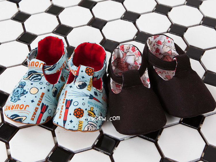 Picture of Bridget Baby Shoes PDF Pattern