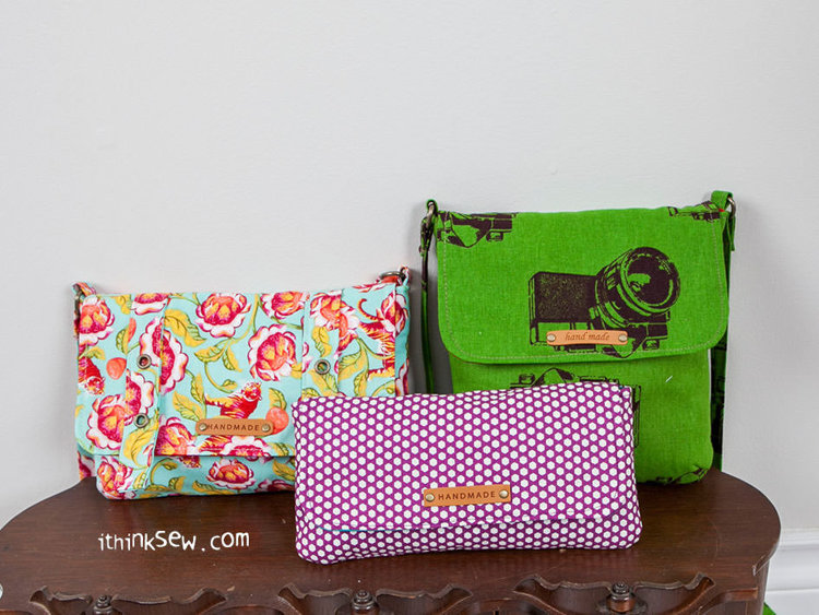 Picture of Arden Bags & Pouch PDF Pattern (3 Style)