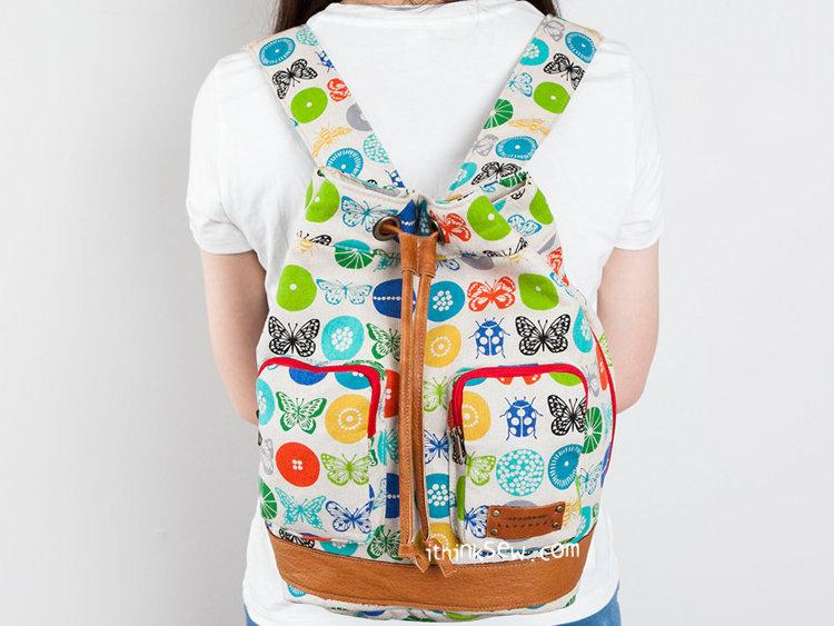 Picture of Loren Bucket Backpack PDF Pattern