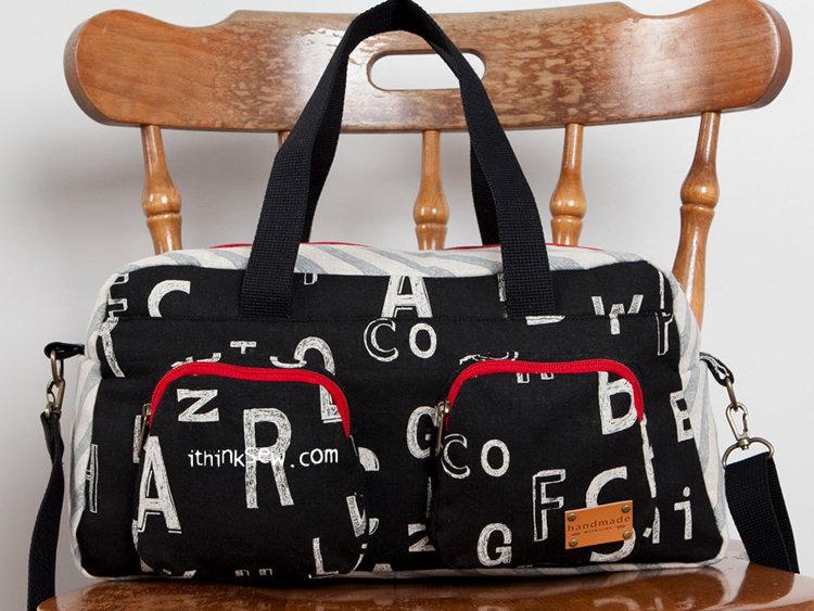 Picture of Anico Boston Bag PDF Pattern