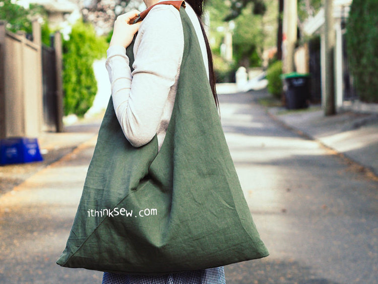 Picture of Nori Kimono Bag PDF Pattern - 2 Size