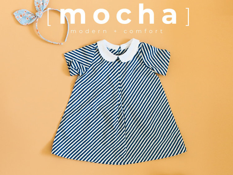 Picture of (3M-24M) Sophie Baby Dress PDF Pattern