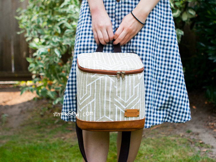 Picture of Jan Lunch Bag PDF Pattern