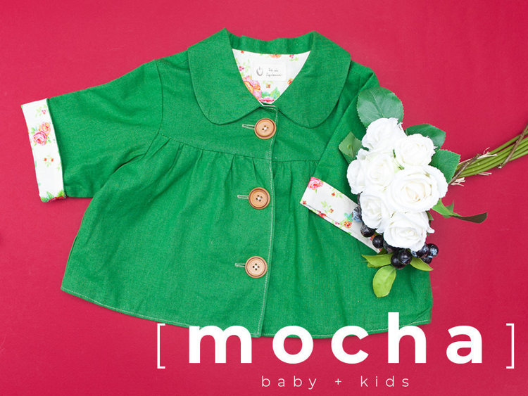Picture of (3Y-7Y) Arianna Jacket PDF Pattern
