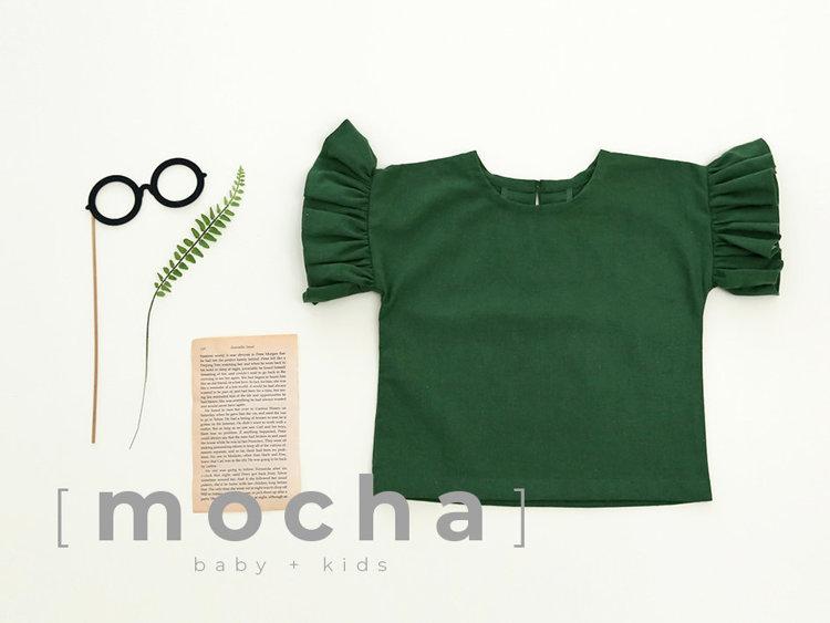 Picture of (3Y-10Y) Emmalyn Blouse for Kids PDF Pattern