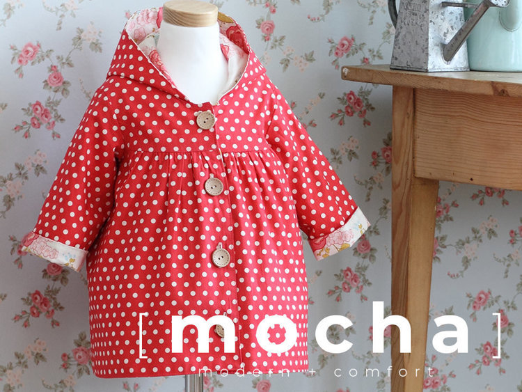 Picture of (3Y ~ 7Y) Mackenzie Gathered Jacket PDF Pattern