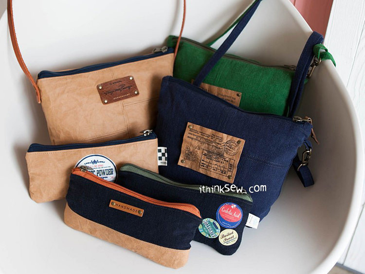 Picture of Henriette Bag and Pouch PDF Pattern