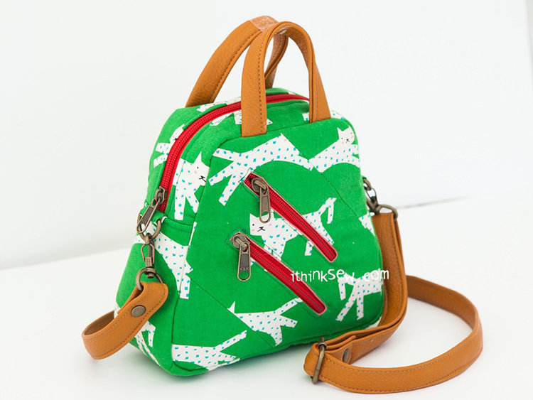 Picture of Janis Small Cross Bag PDF Pattern