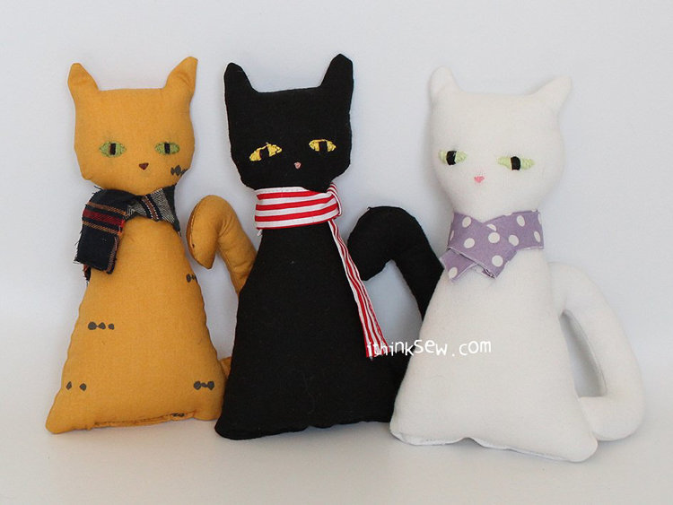 Picture of Free Mimi Cat Doll PDF Pattern