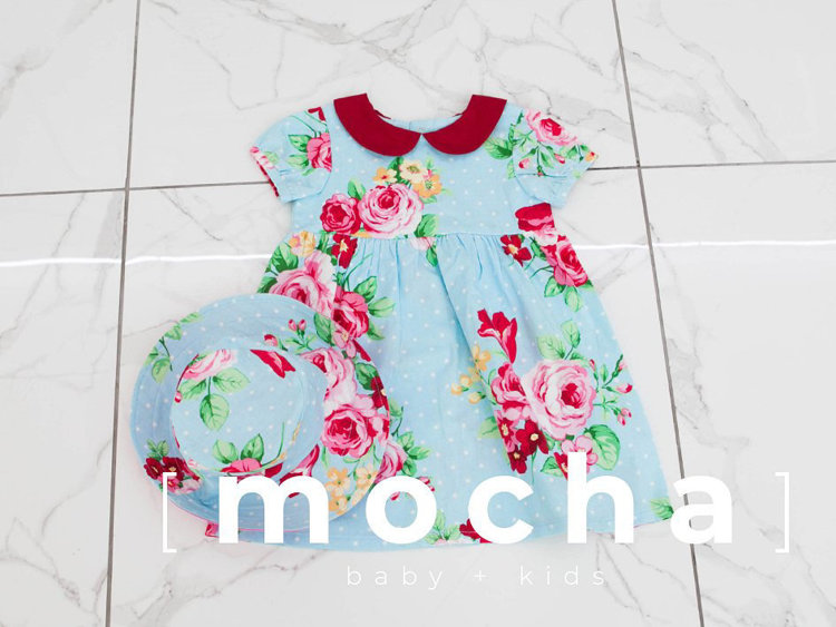 Picture of (1Y-5Y) Charlotte Dress for Baby PDF Pattern