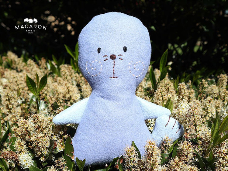 Picture of Free Bentley Seal Doll PDF Pattern